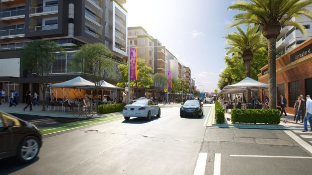 Carrington Road, Marrickville, according to NSW Planning.