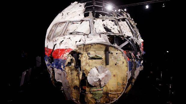 MH17's wreckage was reconstructed  at the Gilze-Rijen Military Base.
