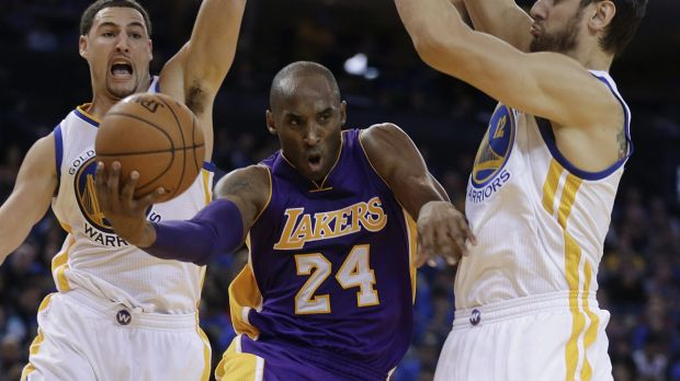 Bowing out: Kobe Bryant.