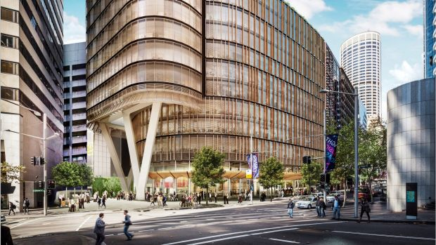 200 George Street, near Circular Quay, Sydney, will be among the city's most sustainable office towers.