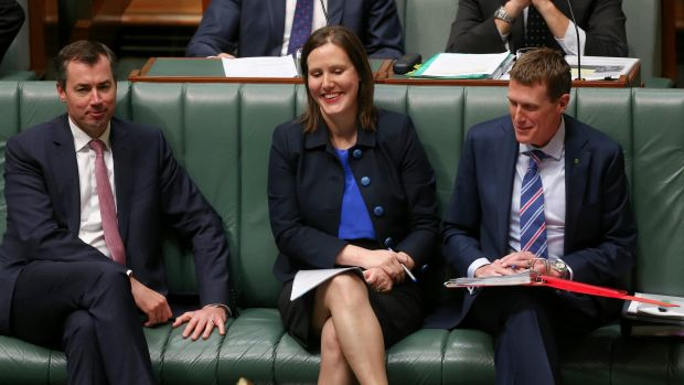 Assistant Treasurer Kelly O'Dwyer will introduce crowdfunding laws this year.