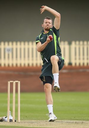 Test paceman Peter Siddle could play for the PM's XI against New Zealand on October 23.