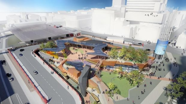 Perth's new food and beverage precinct Yagan Square is due to open in 2017.