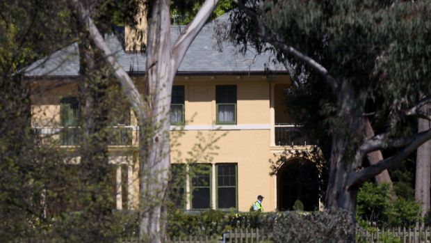 Prime Minister Malcolm Turnbull will be the first resident of the newly renovated Lodge.