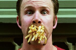 "Morgan Spurlock made the documentary ""Super Size Me"" based on eating only McDonald's food for one month."