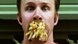 """Morgan Spurlock made the documentary """"Super Size Me"""" based on eating only McDonald's food for one month."""