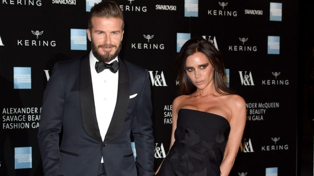 David Beckham has reportedly bailed out his wife's fashion empire.