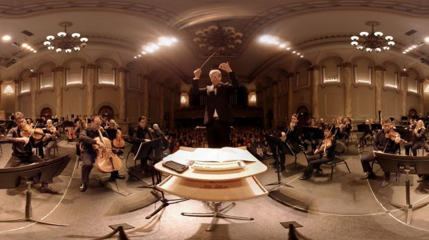 Anton Andreacchio's company Jumpgate VR has made virtual reality content for the Adelaide Symphony Orchestra and Port ...