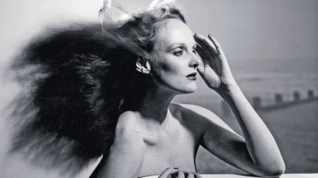 Grace Coddington in 1974, back when she was a model.