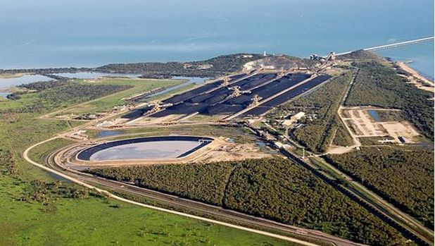 Abbot Point's proposed terminal 0 in Queensland would serve the company's giant Carmichael mine if it gets built.