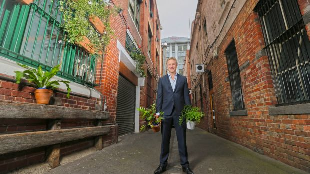 Melbourne City councillor Arron Wood says an innovative project to drive new renewable energy by pooling the purchasing ...