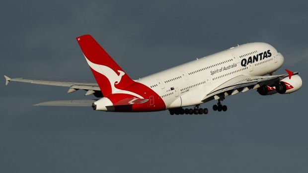 A Qantas A380 was forced into an emergency landing in Sydney.