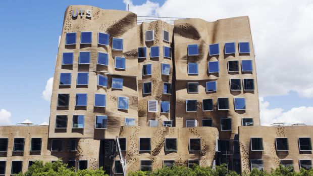 The Dr Chau Chak Wing building at the University of Technology, Sydney.