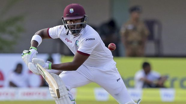 Darren Bravo was the only West Indies batsman to reach 50 in the first innings.