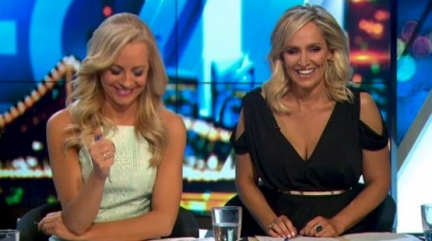 Hosts Carrie Bickmore and Fifi Box respond to Brand's bizarre take on Turnbull and tax havens.
