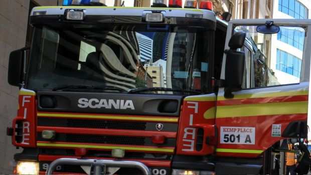 The Queensland Fire and Emergency Service has sent six fire crews to a fire in Carina.