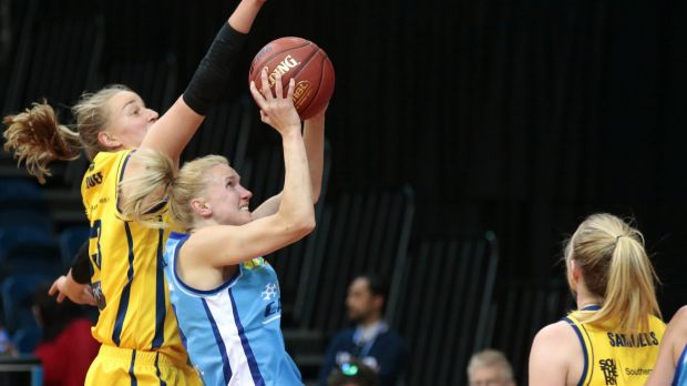 The Capitals' Hanna Zavecz will return from injury against Townsville.