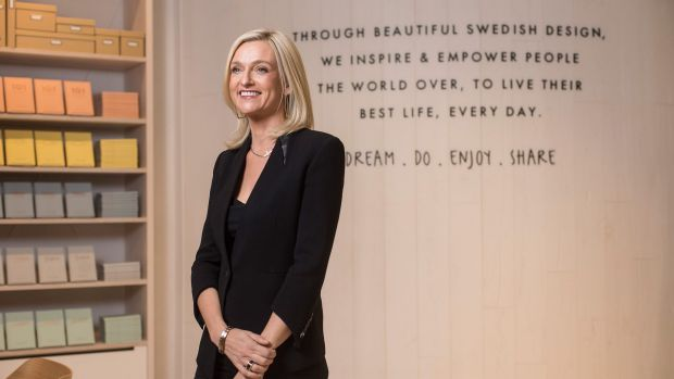 Kikki.K founder Kristina Karlsson's new concept store at Chadstone will be the template for flagship stores in Europe.