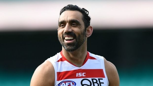 Swansong: Adam Goodes will farewell the Sydney faithful at the SCG in round three.