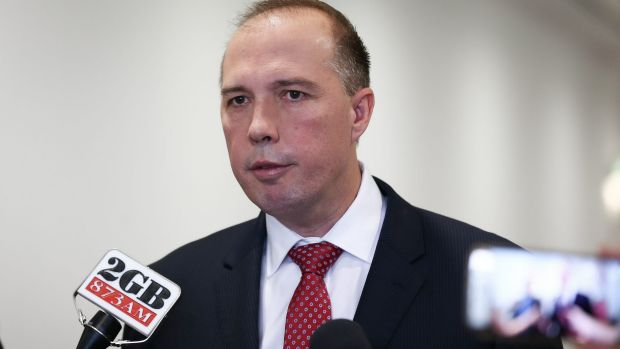 Immigration Minister Peter Dutton  oversees a policy of strict controls on Australia's borders, but imagine a world ...