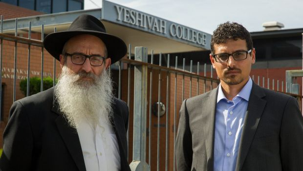 Zephaniah (left) and Manny Waks have been outspoken critics of Yeshivah Centre.