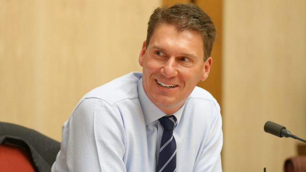 "Senator Cory Bernardi doesn't want GST revenues to go to ""wasteful states""."