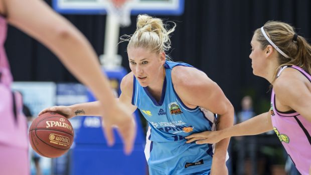 Capitals centre Lauren Jackson is struggling with a knee injury.