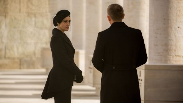 Monica Bellucci and Daniel Craig in <i>Spectre</i>.