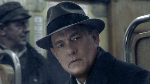Tom Hanks in <I>Bridge of Spies</i>.