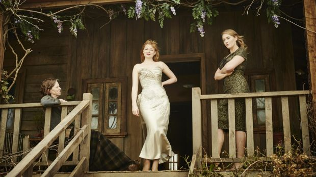 Strong female cast ... Judy Davis, Sarah Snook and Kate Winslet.