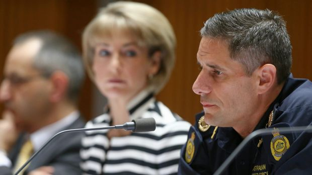 Border Force Commissioner Roman Quaedvlieg answers questions about Operation Fortitude at Senate Estimates last week.
