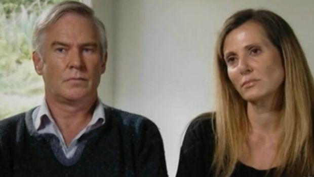 Michael Lawler and Kathy Jackson on <em>Four Corners</em>.