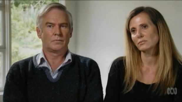 Michael Lawler and Kathy Jackson on <i>Four Corners</i>.
