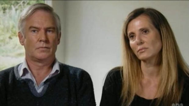 Michael Lawler with his partner Kathy Jackson.