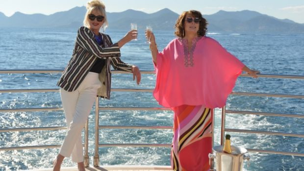 The <i>Absolutely Fabulous</i> girls are back.