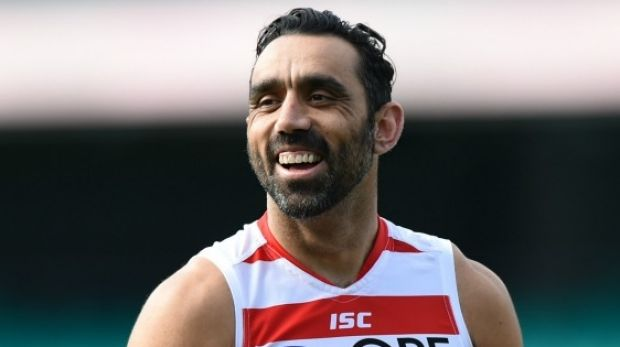 Great expectations: Adam Goodes is the latest sports star approached to run for parliament.