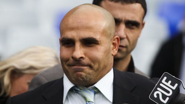 Charged: Bulldogs legend and highest point scorer Hazem El Masri.