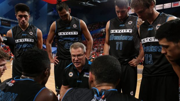 Success story: The New Zealand Breakers are the reigning NBL champions.