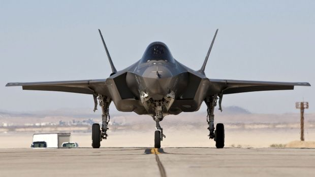 Shares in Lockheed Martin which makes the F-35 fighter,  have risen 3.5 per cent since the Paris terror attacks on Friday.