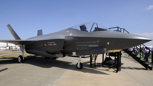 An F-35 Join Strike Fighter.