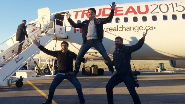Fun photographs of Trudeau have propelled the charismatic politician's popularity.