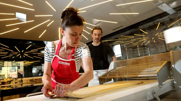 Kate Reid and her brother Cameron have doubled production at their new Fitzroy premises.