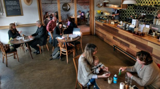 Pope Joan cafe in Brunswick went cash-free this week.