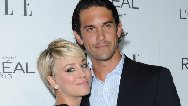 "It's been a ""bizarre"" and ""rough"" few months for Kaley Cuoco after splitting with tennis ace Ryan Sweeting."