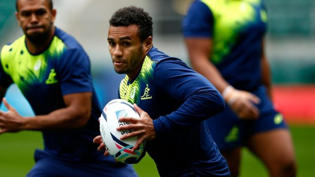 Contender: Wallabies coach Michael Cheika has Will Genia in his plans despite an ankle injury.