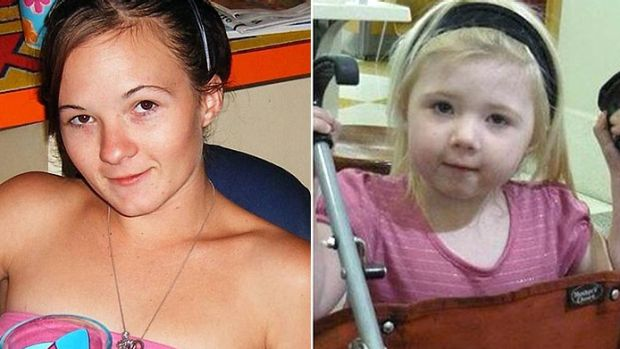 Bodies identified: Karlie Jade Pearce-Steven and her daughter Khandalyce Kiara Pearce.