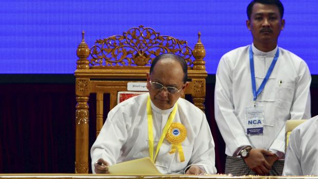 Myanmar President Thein Sein's government has been warned against mixing religion and politics.
