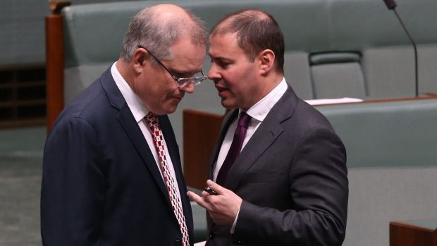 Treasurer Scott Morrison and Resources Minister Josh Frydenberg: The government is reportedly considering major reforms ...