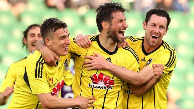 On borrowed time?: There are questions over the future of the Wellington Phoenix.