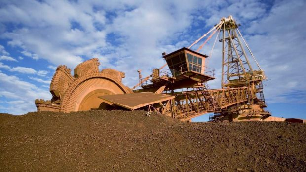 Resources giant BHP Billiton fell to a 11-year low, down 4.8 per cent to $15.55.
